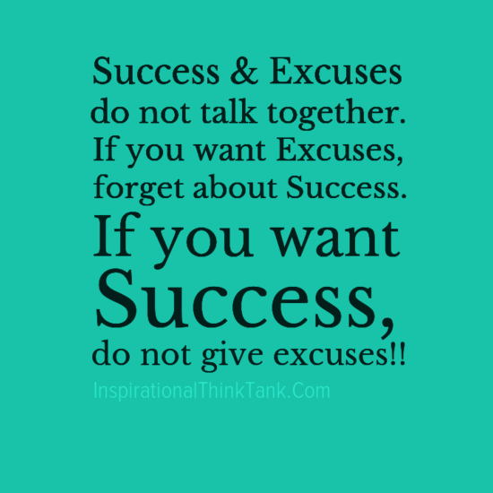 Funny Life Quotes: Inspirational Quotes Excuses